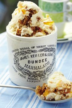 Claire Kelsey marmalade on toast ice cream