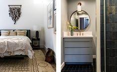 Sunset Idea House — Lauren Nelson Design Scandinavian Interior Doors, Bedroom Design Inspiration, Bathroom Organization, Sunset, Mirror, Furniture, Home Decor, Houses, Kitchen