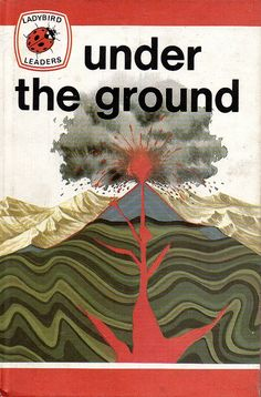 Ladybird Book, Under the ground, Vintage, 1975 Spot Books, My Books, Moon Surface, Book Spine, Ladybird Books, Man On The Moon, Book Jacket, Black Spot, Learn To Read