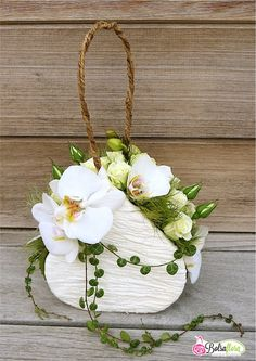 Flower Design  Purse