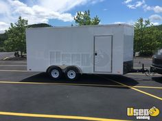 New Listing: https://www.usedvending.com/i/2017-7-x-16-Pop-Up-Retail-Marketing-Trailer-for-Sale-in-Pennsylvania-/PA-MB-436Y 2017 - 7' x 16' Pop-Up Retail / Marketing Trailer for Sale in Pennsylvania!!!