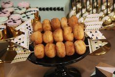 Modern Aztec themed birthday party via Kara's Party Ideas KarasPartyIdeas.com   Cake, decor, printables, tutorials, desserts, banners, food, and more! #modernaztecparty (21)