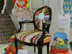 Candy Chair as seen at NCA Sweets & Snacks Expo 2012 #mscandyblog #style #home