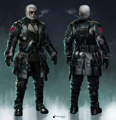 ArtStation - Rapid Fire_characters, Yulin Li