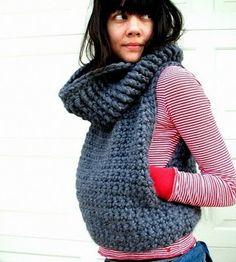 Miner's Vest Pattern by Rosetung on Etsy...Wish I crocheted!!