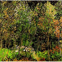 Vincent Van Gogh - The Grove oil painting
