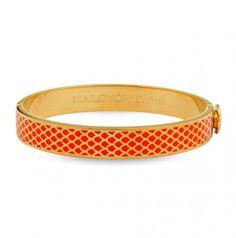 Kollektion: Salamander ⦁ Produktart: Armreif ⦁  Material: Messing, vergoldet mit 750/- Gelbgold ⦁ Breite: 1 cm ⦁ Referenz: 201/DH004