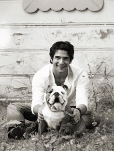 Tyler Posey. i have no idea who he is but this picture is ADORABLE!
