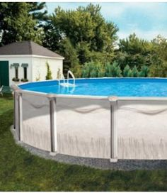 1000 images about above ground pools on pinterest above for Affordable pools and supplies