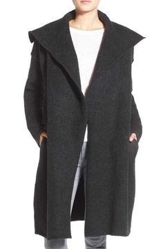 James Perse Solid Blanket Coat