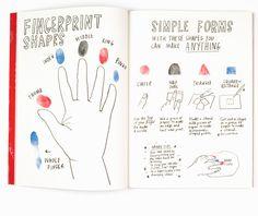 Deja tus HUELLAS y haz una obra de ARTE – inspiración por el libro de Marion Deuchars – Babyecochic.com