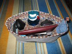 organiseur de sac en feutre et tissus