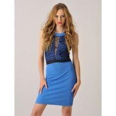 Vestido Elegante Corto Azul MS869 Dresses, Fashion, Classy Dress, Types Of Dresses, Short Dresses, Clothes Shops, Fashion Clothes, Hot Clothes, Spring Fashion