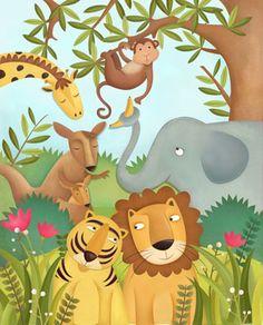 Ilustradora Infantil Constanza Basaluzzo Argentina Arte Cultura Niños párr OBRA IMÁGENES Arte Ilustración