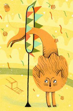 El circo - Ilustración de Julianna Brion.