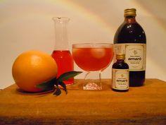 KURA BREAK ,coktail analcolico ingredienti: Sambitter Rosso, aranciata amara, Amarò.