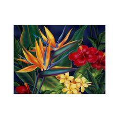 Poster tropical das belas artes do paraíso ❤ liked on Polyvore featuring home, home decor, wall art, tropical wall art, tropical posters and tropical home decor
