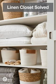 Home Decoration Ideas Vintage .Home Decoration Ideas Vintage Linen Closet Organization, Closet Storage, Attic Storage, Bathroom Storage, Storage Organization, Hall Closet, Closet Space, Home Design, Design Design