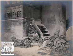 Raccommodeuse de sacs de plâtre. Photographie de Louis Vert (1865-1924). Paris, musée Carnavalet.