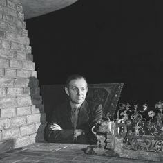 Girard in Grosse Pointe Home, 1940's