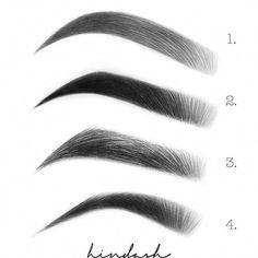 Sourcils - sourcils, # sourcils - # sourcils Exprimant qui are generally rhinoplastie Eyebrow Makeup Tips, Eyebrow Pencil, Eye Makeup, Makeup Eyebrows, Makeup Brush, Eyebrows Sketch, How To Draw Eyebrows, Eye Drawing Tutorials, Art Tutorials