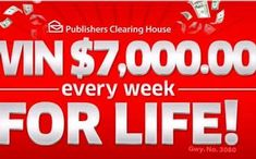 Enter to Win Publishers Clearing House Sweepstakes - Bing images Knox County, Enter Sweepstakes, Win Cash Prizes, Publisher Clearing House, House Names, Winning Numbers, Enter To Win, Home Logo, House And Home Magazine