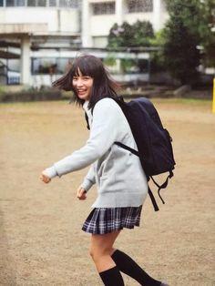 広瀬すず School Uniform Girls, Girls Uniforms, School Uniforms, Asian Actors, Japanese Girl, Asian Woman, Actors & Actresses, Most Beautiful, Suzu