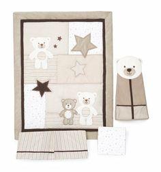 Carter's 4 Piece Crib Bedding Set, Baby Bear by Carter's, http://www.amazon.com/dp/B00729YT9U/ref=cm_sw_r_pi_dp_EjcLqb18V52SH