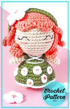 Doll Amigurumi Free Pattern, Amigurumi Toys, Half Double Crochet, Single Crochet, Elf Doll, Bobble Stitch, Learn To Crochet, Stitch Markers, Crochet Dolls