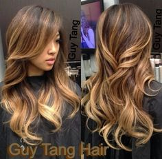 this is it! Balyage hair! Great for growing out your roots to get back your natural hair color too.