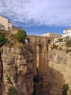 Puente Nuevo, Ronda, Malaga, Spain