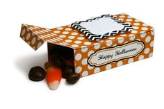 Free Halloween Box printable!  Print on home printer and cut with Rectangle Box cutting die or scissors.