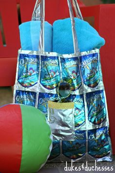 I created this upcycled Capri Sun tote bag as part of a sponsored post for Socialstars. #CapriSunMomFactor Summertime means lots of heat and lots of cold drinks and Capri Sun Juice Drinks are a staple in our house. I love the ease of grabbing a pouch, especially when we're on the go, and I feel …