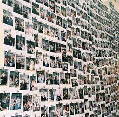 photo // memories // grunge // polaroids // have a Polaroid wall Polaroid Wall, Polaroid Photos, Polaroids, Polaroid Display, Polaroid Pictures Display, Instax Wall, Polaroid Cameras, My New Room, My Room