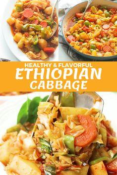 Vegan Cabbage Recipes, Green Pepper Recipes, Vegan Recipes Videos, Vegan Dinner Recipes, Delicious Vegan Recipes, Easy Chicken Recipes, Indian Food Recipes, Vegetarian Recipes, Cooking Recipes
