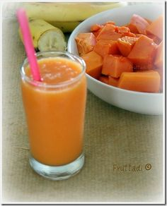 Batida de papaya y guineo plus an awesome blog of authentic latin recipes