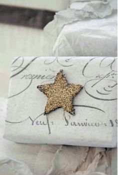Shabby Christmas Wrapping