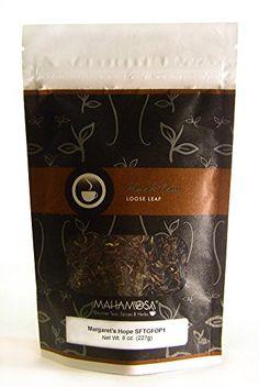 Mahamosa Darjeeling Indian Black Tea Loose Leaf Looseleaf Margarets Hope SFTGFOP1 8 oz Single Estate Loose Leaf Black Tea >>> Click on the image for additional details.-It is an affiliate link to Amazon.