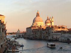 Sunset Venice, Taj Mahal, Sunset, Building, Travel, Viajes, Venice Italy, Buildings, Destinations