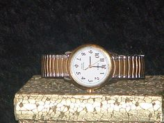 Timex Ladies Gold & Silver Tone Watch  #Timex #Casual