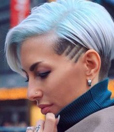 15 Ways To Style Short Hair Short Hairstyle 2018 – 181 Girls Short Haircuts, Short Hairstyles For Women, Childrens Hairstyles, Ladies Hairstyles, Undercut Hairstyles, Cool Hairstyles, Short Undercut, Undercut Pompadour, Disconnected Undercut