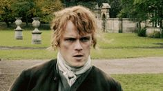 """""""I was so blown away by his. - totally chilled out Outlander fan Outlander Book 3, Outlander Gifs, Diana Gabaldon Outlander Series, Outlander Season 1, Top 100 Films, Samheughan, Jamie And Claire, Jamie Fraser, Historical Romance"""