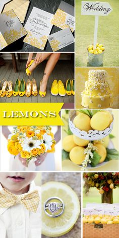 lemons! For Bethany Stratton...just ideas I think you might like!