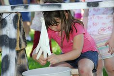Cow Milking at Western Welcome Week's Kids Games of Old, Littleton, CO