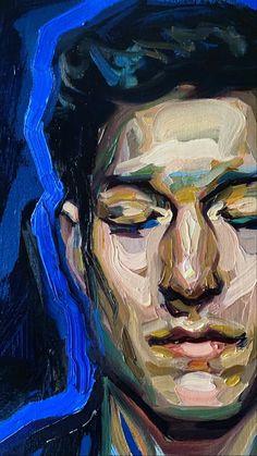 Self Portrait Drawing, Portrait Art, Portrait Paintings, Portraits, Cool Drawings, Drawing Sketches, Human Drawing, Artist Aesthetic, Art Folder