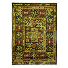 """Vibrance Collection Oriental Rug, 6'6"""" x 8'10"""""""