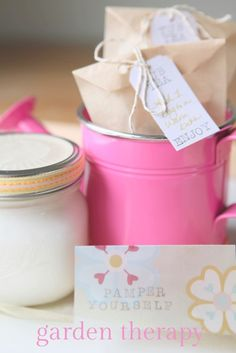 Homemade Bath and Body Gifts Kids Can Make