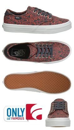 We're loving Vans' Camden sneakers. Malls and skate parks will never be the same again!