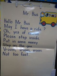 First Grade shared reading poetry notebooks! Preschool Songs, Preschool Literacy, Preschool Themes, Preschool Lessons, Transportation Theme Preschool, Classroom Solutions, Kids Poems, Finger Plays, Shared Reading