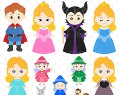 Villain Digital Clipart Maleficent Clipart Evil queen